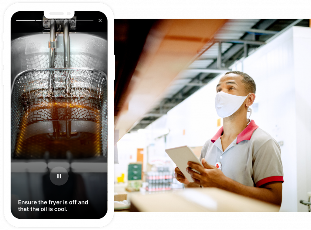 Smart Access is the next innovation in QSR technology for QSRs that rapidly creates and delivers training through mobile devices.