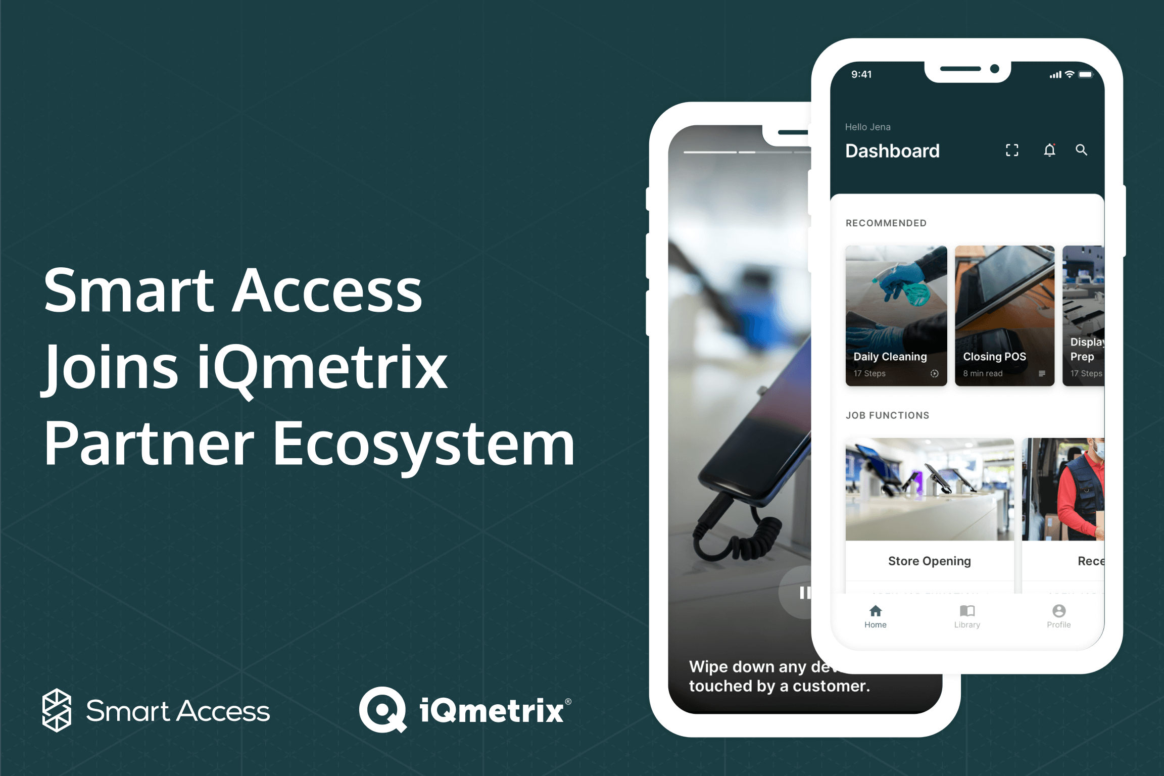 Smart Access iQmetrix partnership employee training