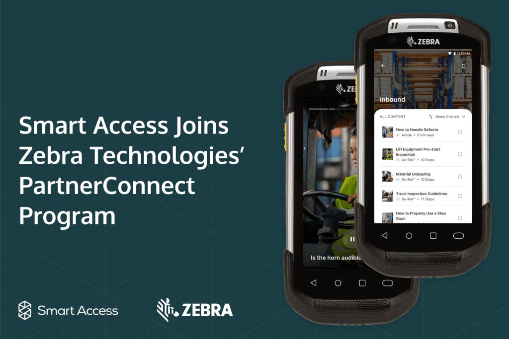 smart access joins zebra technologies